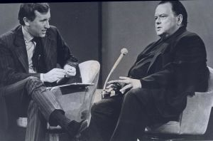 David Frost and Orson Welles