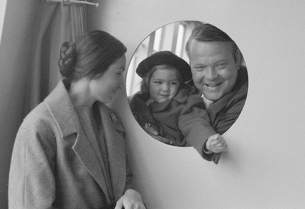 Paolo, Beatrice and Orson, October 1958