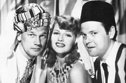Joseph Cotten, Rita and Orson