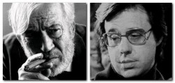 John Huston and Peter Bogdanovich