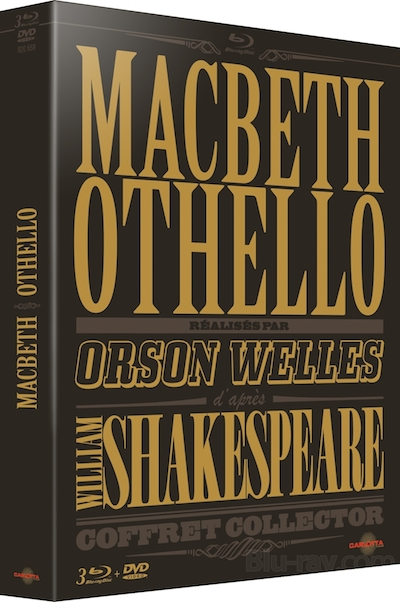 Details emerge on French Blu-ray releases of 'Othello,' 'Macbeth'