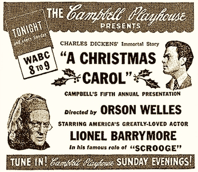 lionel barrymore is best known to movie fans for his portrayal of the evil mr potter in director frank capras christmas classic its a wonderful life - A Christmas Carol Full Text